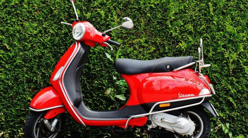 Un scooter 125 assuré